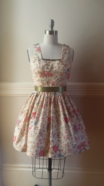 Floral Indiennes Sun Dress