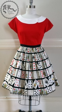 Deck of Cats Skirt